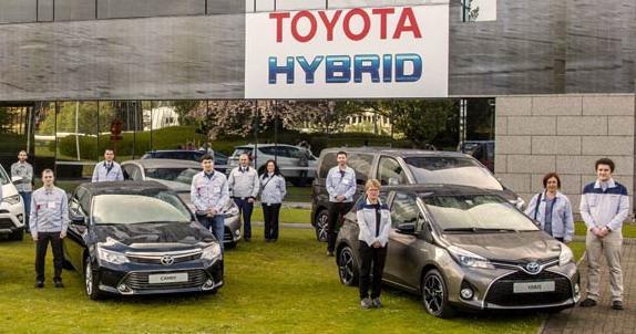 Desetomilionita evropska Toyota