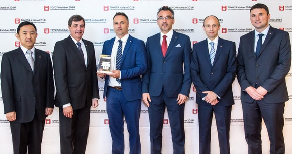 Toyota Centar Beograd je ovogodišnji dobitnik Evropske nagrade za zadovoljstvo kupaca