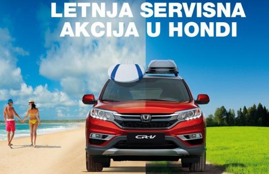 Honda letnja servisna akcija u AK Stojanov