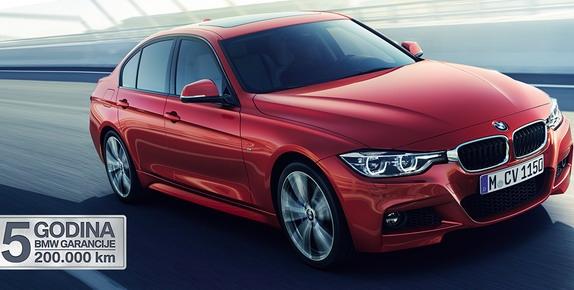 Letnja akcija za BMW Serije 3
