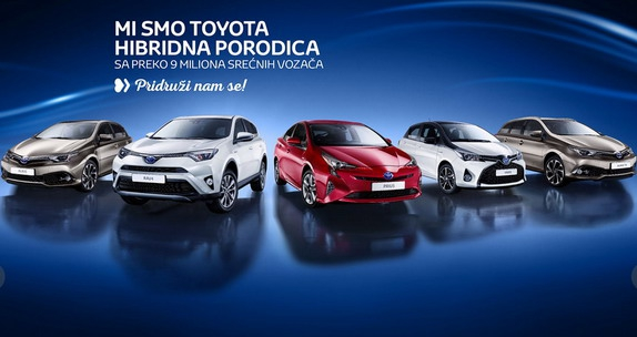 Toyota Srbija: eko subvencija do 3.000 evra