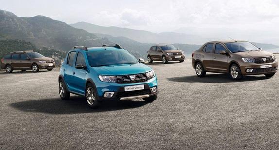 Dacia Sandero i Logan facelift