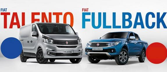 Novi modeli za Profesionalce – Fiat Fullback i Talento uskoro kod nas