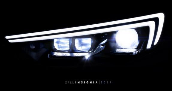 IntelliLux LED® prednji farovi nove generacije za novu Opel Insigniju
