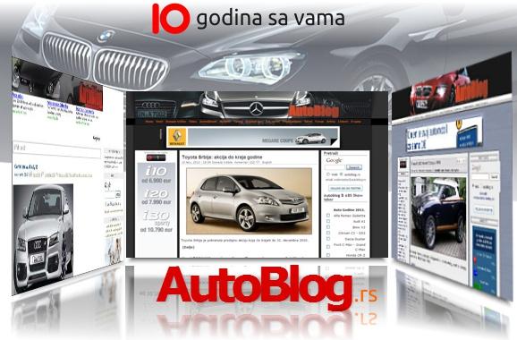 Autoblog.rs slavi 10. rođendan