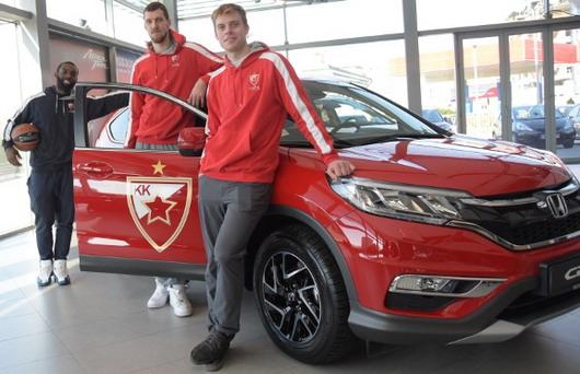 Honda i KK Crvena Zvezda udruženim snagama do novih trofeja