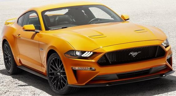 2018 Ford Mustang i zvanično