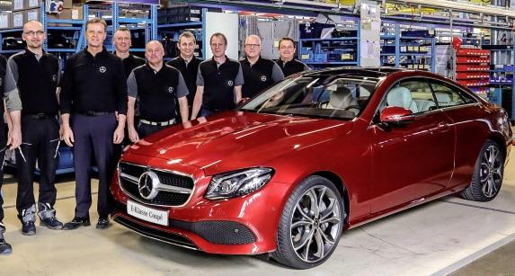 Počela proizvodnja novog Mercedesa E klase Coupe