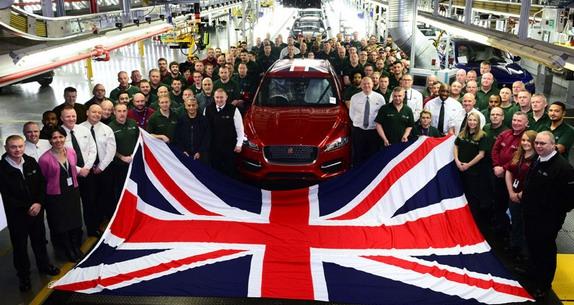 Jaguar Land Rover opet najveći proizvođač automobila u Velikoj Britaniji