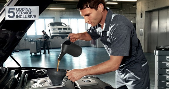 Service Inclusive u trajanju od 5 godina uz kupovinu novog BMW-a