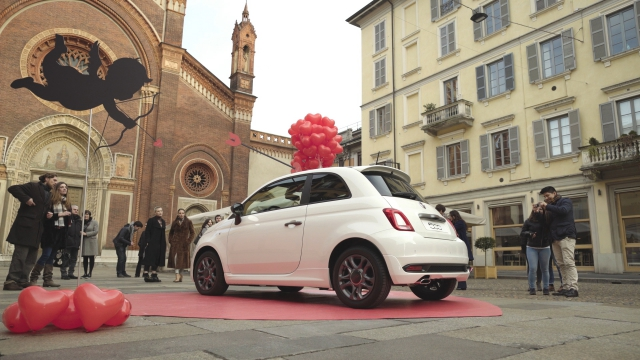 Na Dan zaljubljenih, FIAT 500 u ulozi Kupidona
