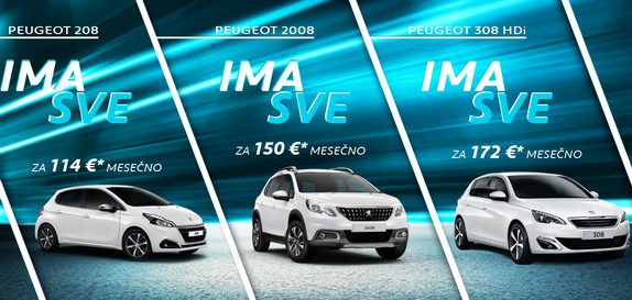 Peugeot sajamska ponuda