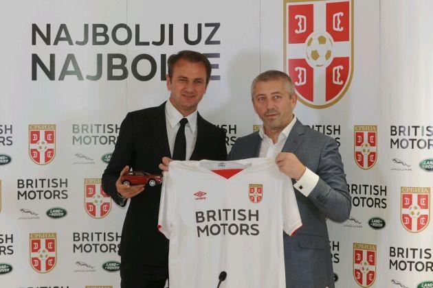 British Motors sponzor Fudbalskog saveza Srbije
