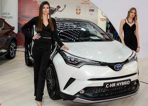 Toyota na sajmu u Beogradu