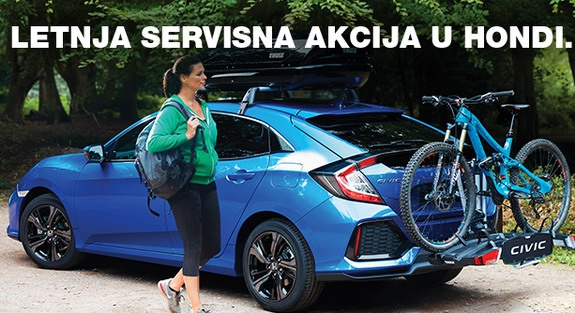 Honda letnja servisna akcija