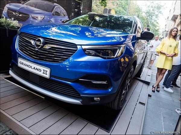 Opel Grandland X - svetska pretpremijera u Beogradu!