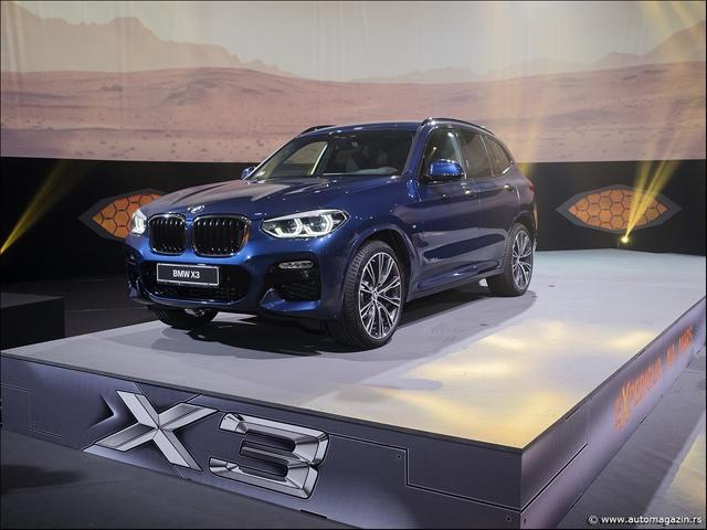 Novi BMW X3 je stigao u Srbiju