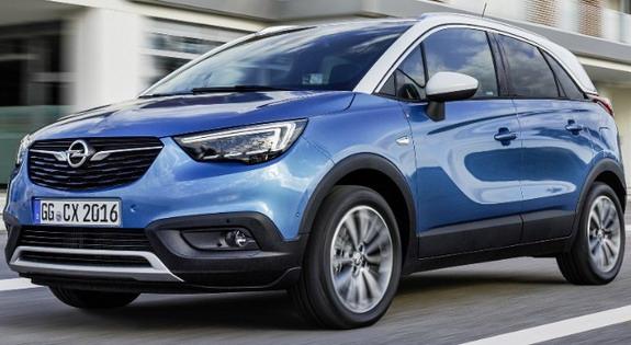 Akcijske cene za Opel Crossland X