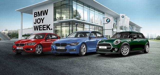 BMW JOY WEEK nedelja ekstremnih akcijskih cena korišćenih vozila