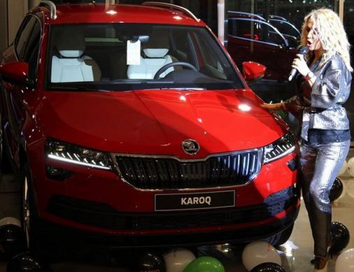 Škoda Karoq predstavljena na Novom Beogradu