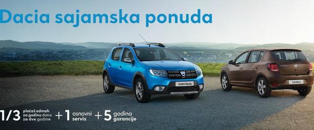 Dacia sajamska ponuda