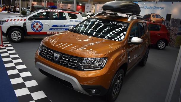 Dacia na sajmu BG Car Show