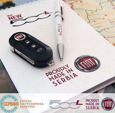 Osvojite FIAT 500L na vikend i obiđite Srbiju