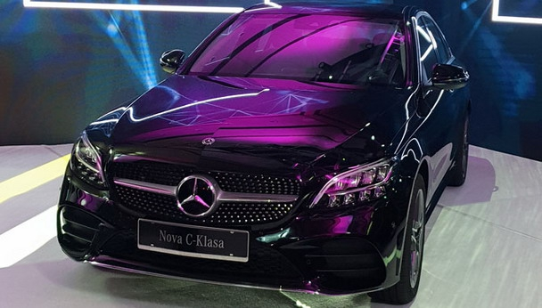 Redizajnirana Mercedes C klasa prestavljena u Beogradu