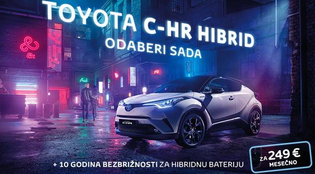 Akcija za Toyotu C-HR Hybrid
