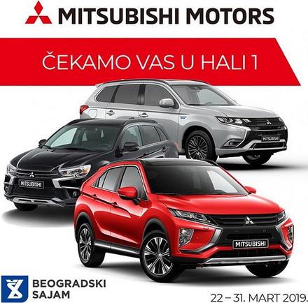 Mitsubishi na Salonu automobila u Beogradu