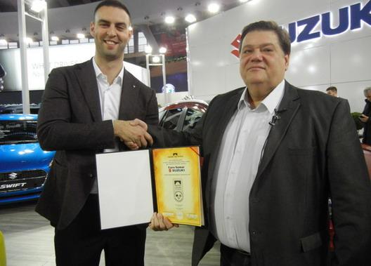 """Žig garancije """"Zaštićen potrošač"""" za uvoznika Suzuki automobila i motocikala"""