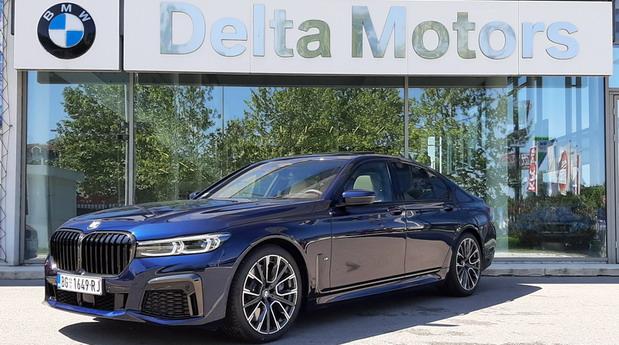 BMW Serije 7 u BMW prodajnim salonima u Srbiji