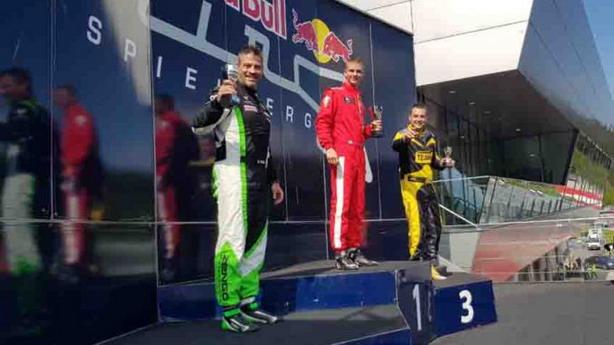 CEZ: Milovanović imao problem sa kočnicama, ali ipak trku završio kao treći