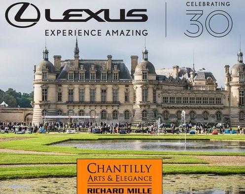 Lexus slavi tri decenije na Chantilly arts & Elegance Richard Mille 2019