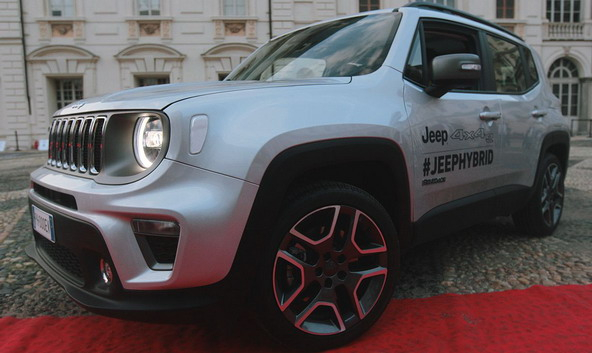 """Jeep na Salonu automobila u """"Parco del Valentino"""" za 2019. godinu"""