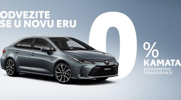 Beskamatno finansiranje za Toyotu Corollu i C-HR