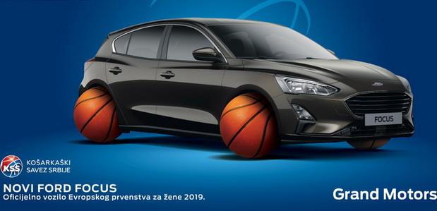 Popust za Ford Focus tokom Ženskog Evropskog prvenstva u košarci