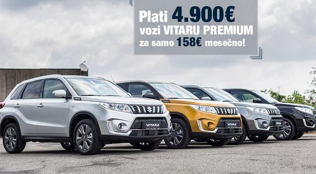Suzuki Vitara 1.4 Premium 2WD 6MT za 158 evra mesečno