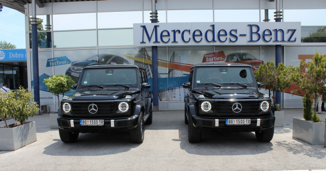 Ekskluzivna ponuda Mercedes-Benz G-Klase u Primero Rent a Car