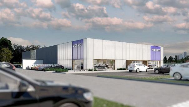 Novi Volvo centar Beograd u septembru
