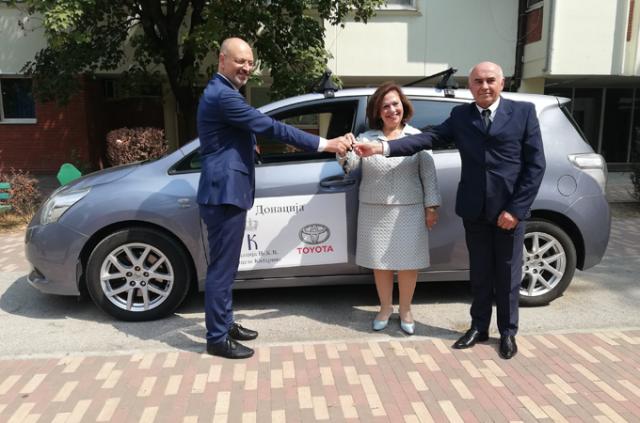 Donacija Toyote Srbija opštoj bolnici u Čačku