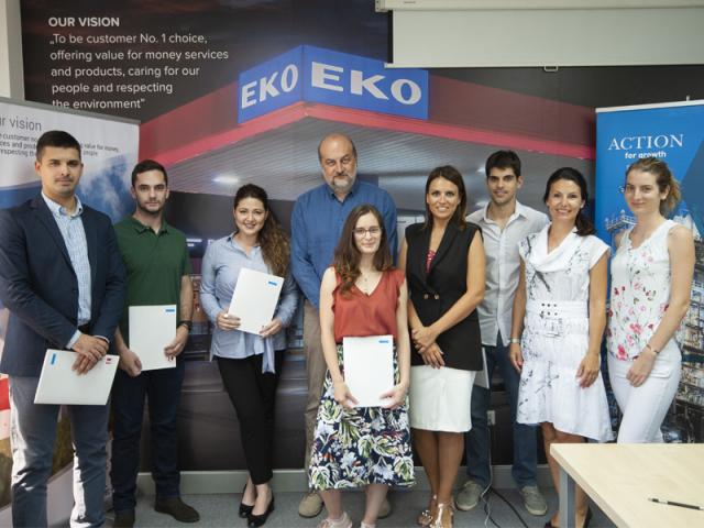 KOMPANIJA EKO SERBIA DODELILA STIPENDIJA ZA PET NAJBOLJIH STUDENATA