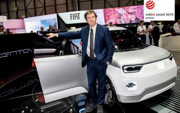 """Fiat Concept Centoventi dobitnik nagrade """"Red Dot 2019"""""""