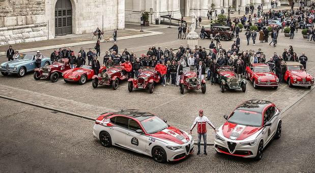 """Alfa Romeo biće auto-moto sponzor trke """"1000 Miglia"""" 2020. godine"""