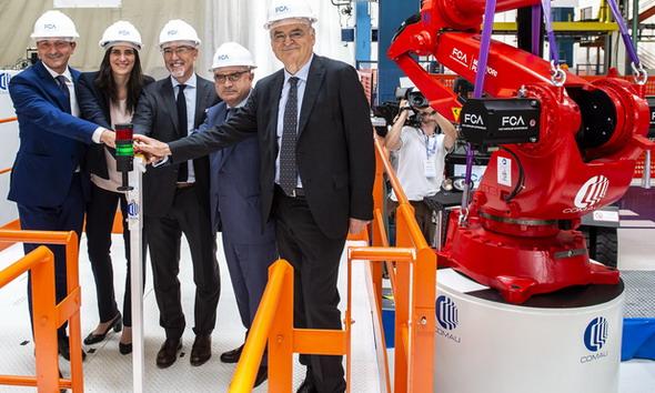 """""""Battery Hub"""" - Novi pogon za ugradnju baterija u fabrici Mirafiori ubrzava planove za elektrifikaciju vozila FCA Grupe"""