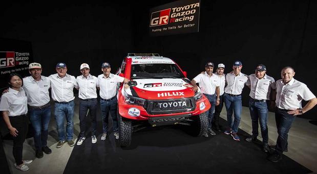 TOYOTA GAZOO Racing najavljuje 2020 Dakar Rally tim