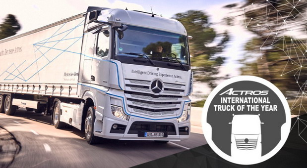 "Mercedes-Benz Actros poneo laskavu titulu kamiona godine ""Truck of the Year 2020"""
