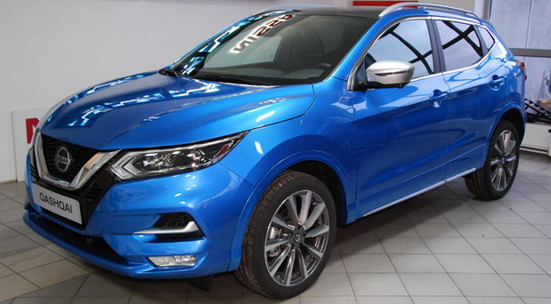 Srećan petak u Nissan LF-Auto centru: premijera novog paketa opreme modela Qashqai i snižene cene