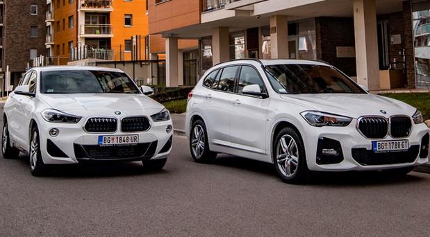 Akcijska ponuda za BMW X1 i BMW X2
