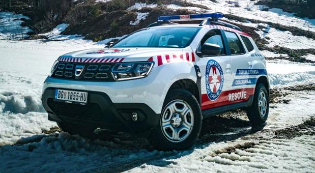 Gorska Služba Spasavanja i Dacia Duster pomažu meštanima novopazarskih sela